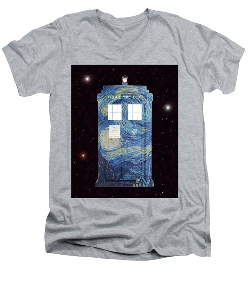 Starry Starry Night Men's V-Neck T-Shirt