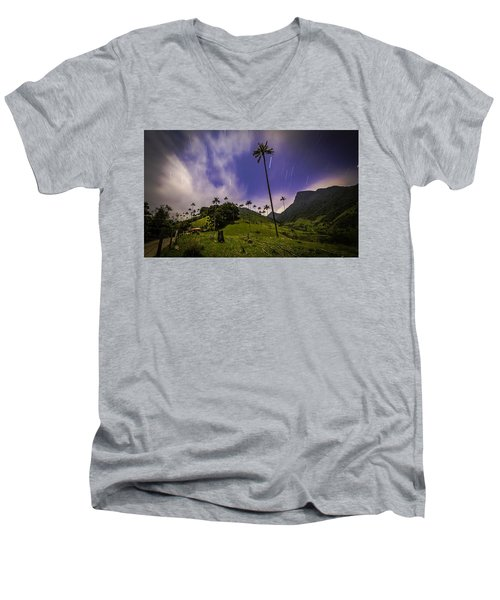 Stars In The Valley Men's V-Neck T-Shirt