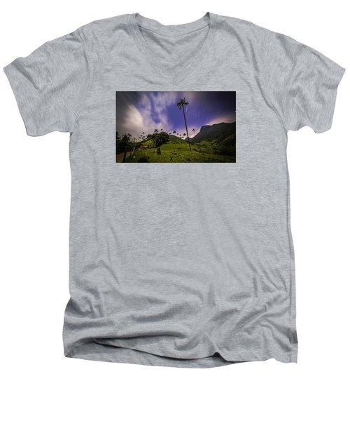 Stars In The Valley Men's V-Neck T-Shirt