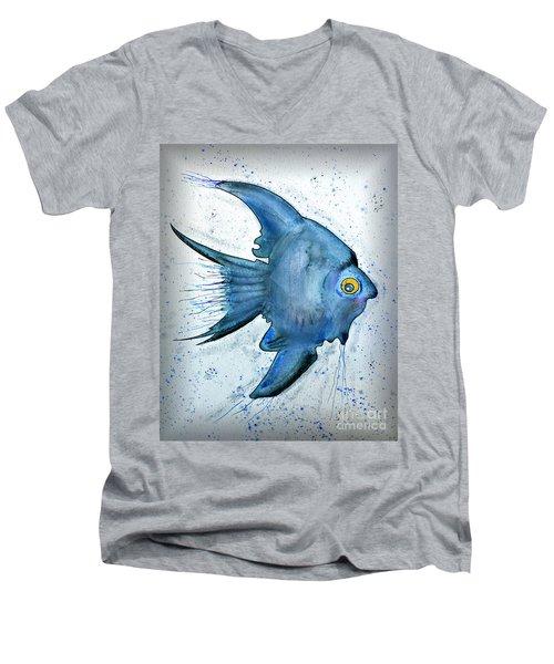 Startled Fish Men's V-Neck T-Shirt