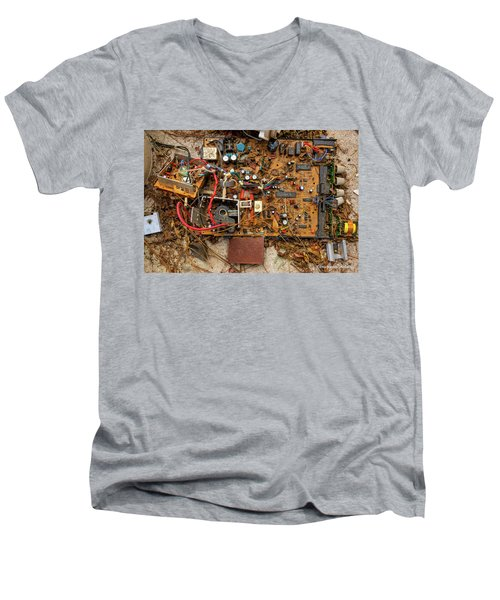 Men's V-Neck T-Shirt featuring the photograph State Of The Art by Christopher Holmes