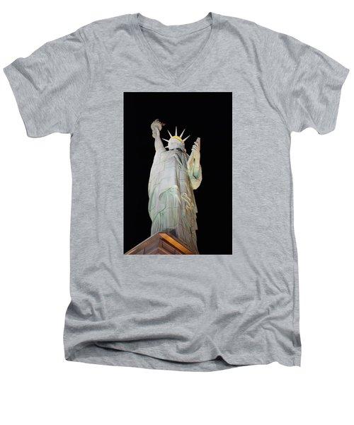 Statue Of Liberty.... Not Men's V-Neck T-Shirt