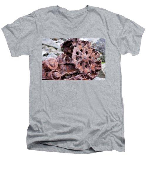 Steam Shovel Number Two Men's V-Neck T-Shirt
