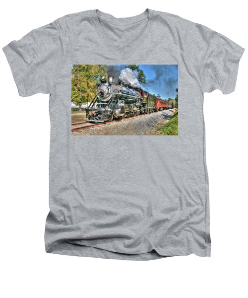 Steaming Men's V-Neck T-Shirt