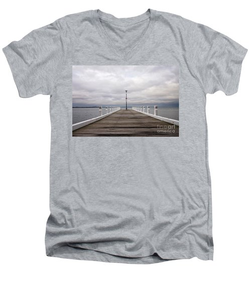 Steampacket Quay Men's V-Neck T-Shirt