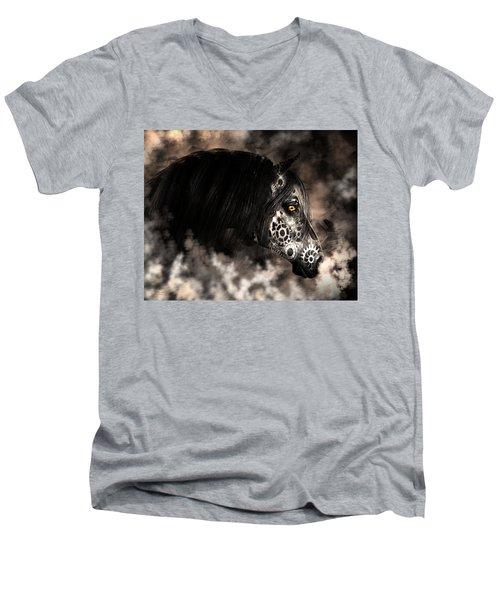 Steampunk Champion Men's V-Neck T-Shirt