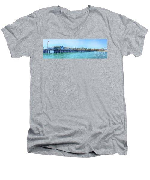 Stearns Wharf Men's V-Neck T-Shirt