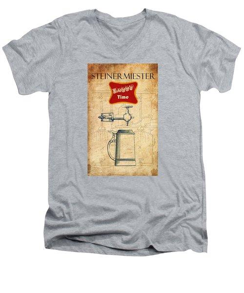 Steinermiester Men's V-Neck T-Shirt