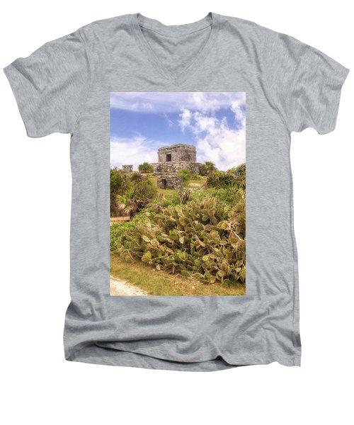 Step To The Heavens Men's V-Neck T-Shirt