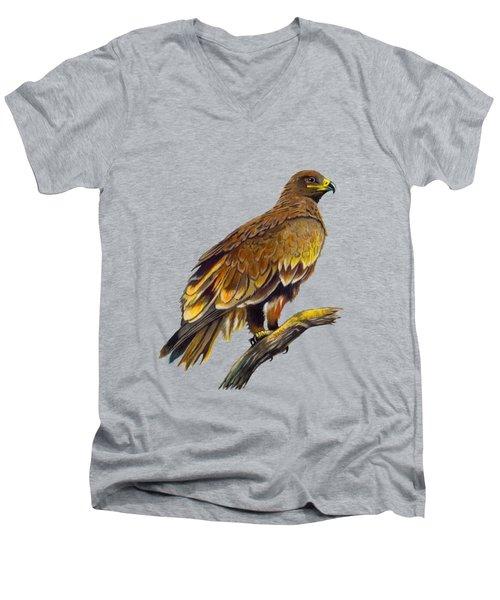 Steppe Eagle Men's V-Neck T-Shirt
