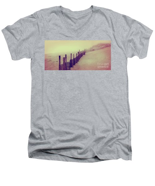 Stepping In A Clouded Dream Men's V-Neck T-Shirt