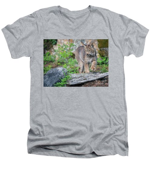 Stepping Out Men's V-Neck T-Shirt