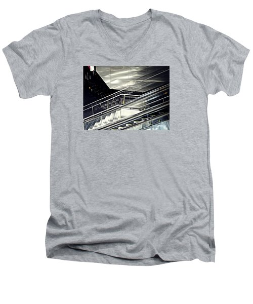 Steps Men's V-Neck T-Shirt