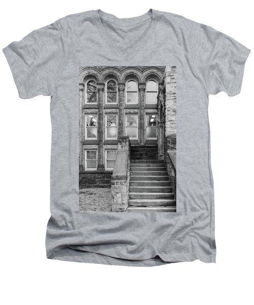 Steps Up Men's V-Neck T-Shirt