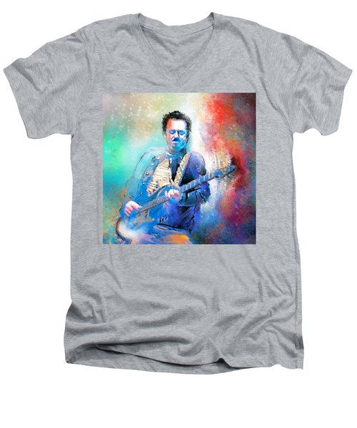 Steve Lukather 01 Men's V-Neck T-Shirt