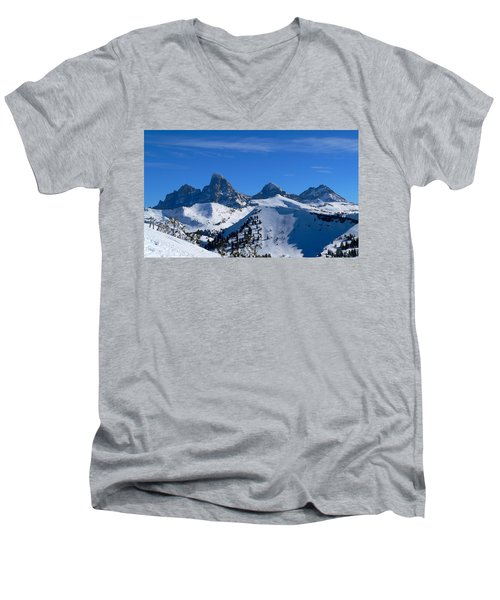 Steve Baugh Bowl Men's V-Neck T-Shirt by Eric Tressler