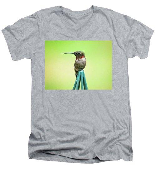 Stick Out Your Tongue Men's V-Neck T-Shirt