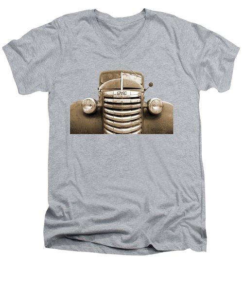 Still Going Strong - Sepia Men's V-Neck T-Shirt