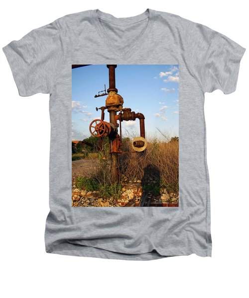 Still Here Men's V-Neck T-Shirt