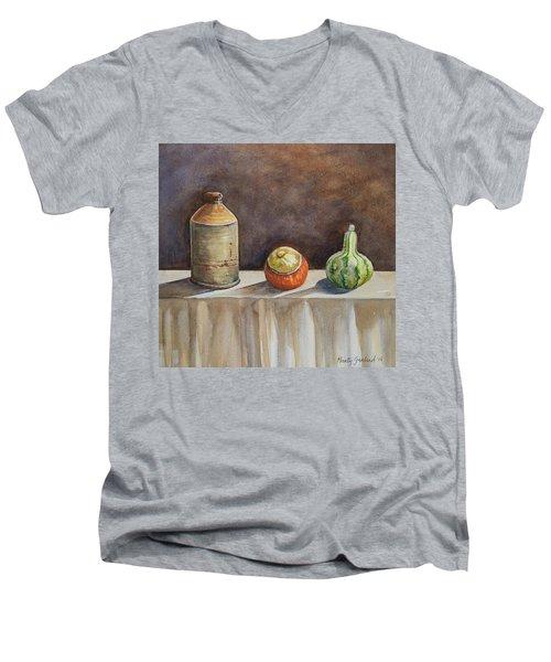 Still Life On A Table Men's V-Neck T-Shirt