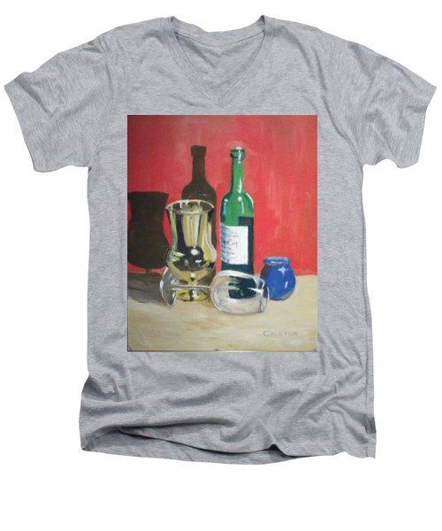 Still Life Shadows Men's V-Neck T-Shirt