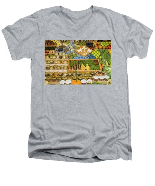 Still Life#3 Men's V-Neck T-Shirt