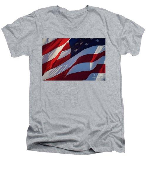 Still Our Flag. Men's V-Neck T-Shirt