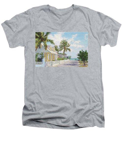 Still Point Men's V-Neck T-Shirt