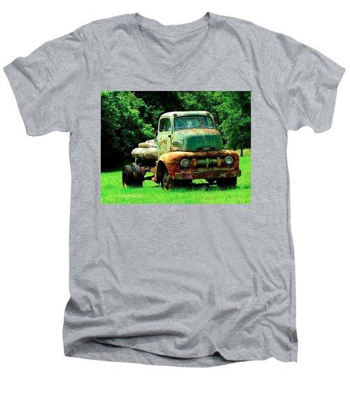 Still Strong Men's V-Neck T-Shirt
