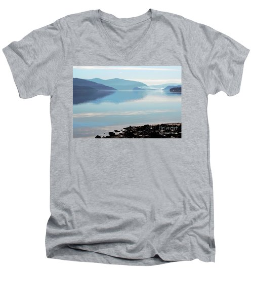 Men's V-Neck T-Shirt featuring the photograph Still by Victor K