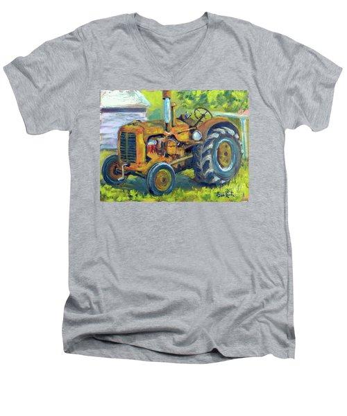Still Workin' Men's V-Neck T-Shirt