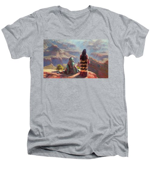 Stillness Men's V-Neck T-Shirt