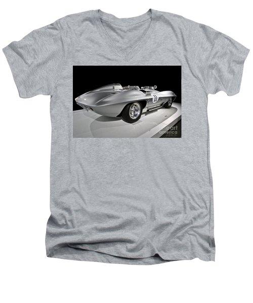 Stingray Racer Men's V-Neck T-Shirt
