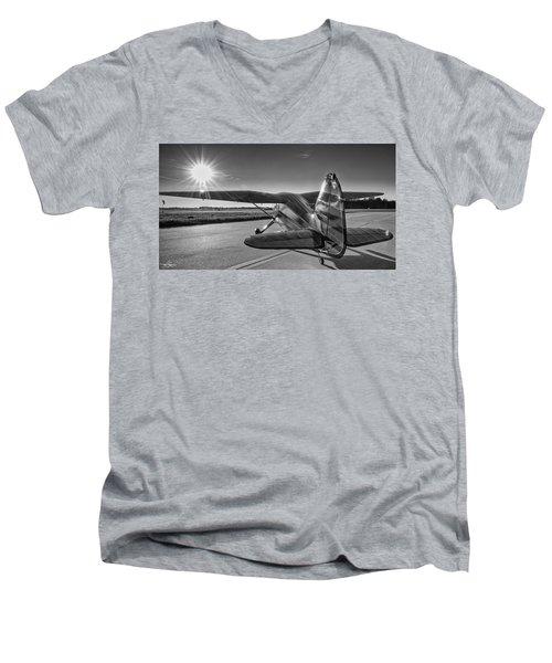 Stinson On The Ramp Men's V-Neck T-Shirt