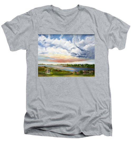 Stoker's  Swift Creek Men's V-Neck T-Shirt