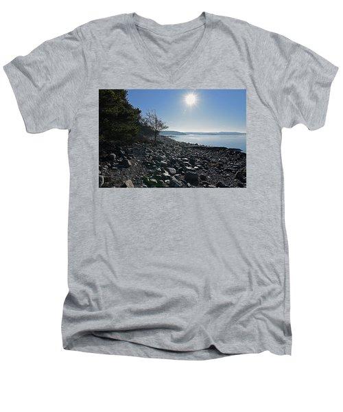 Stone Beach Men's V-Neck T-Shirt