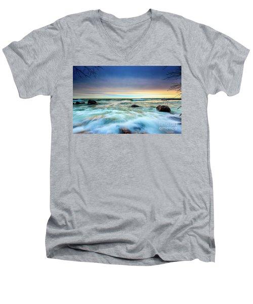 Stone Rush Men's V-Neck T-Shirt