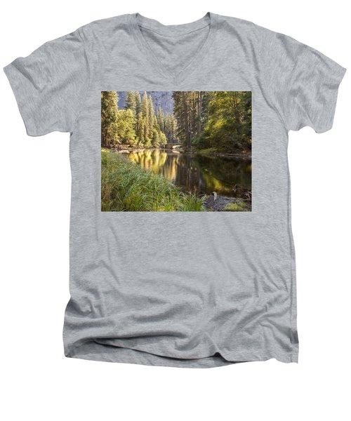 Stoneman Bridge Men's V-Neck T-Shirt