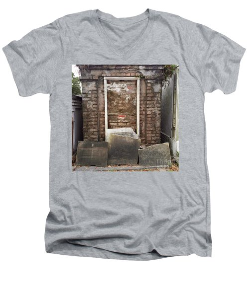 Stones And Markers Men's V-Neck T-Shirt