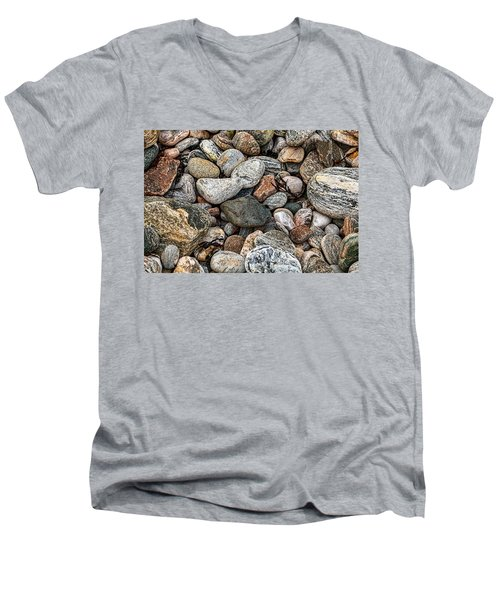 Stones Men's V-Neck T-Shirt