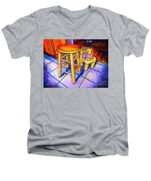Stool Men's V-Neck T-Shirt