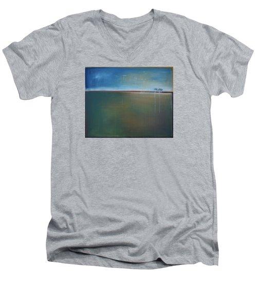 Storden Men's V-Neck T-Shirt by Theresa Marie Johnson