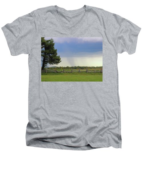 Storm At 258.6 Men's V-Neck T-Shirt