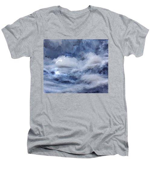 Storm At Sea Men's V-Neck T-Shirt