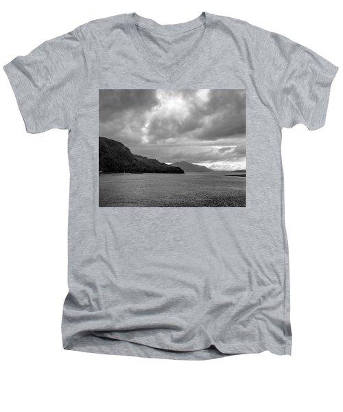 Storm On The Isle Of Skye, Scotland Men's V-Neck T-Shirt