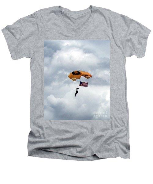 Storm Jump Men's V-Neck T-Shirt