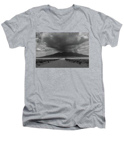 Storm Over Blanca Peak Men's V-Neck T-Shirt
