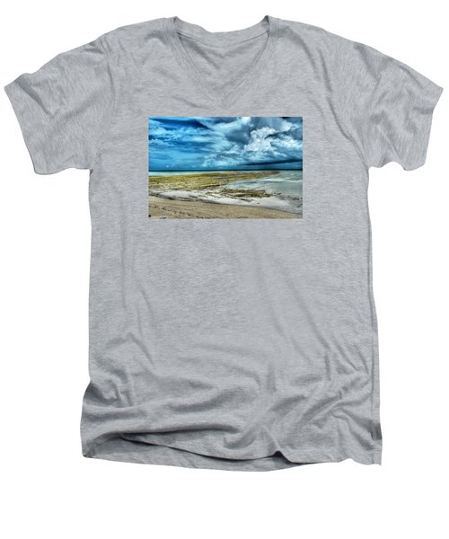 Storm Over Yamacraw Men's V-Neck T-Shirt