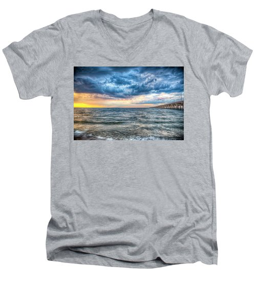 Storm Rising Men's V-Neck T-Shirt