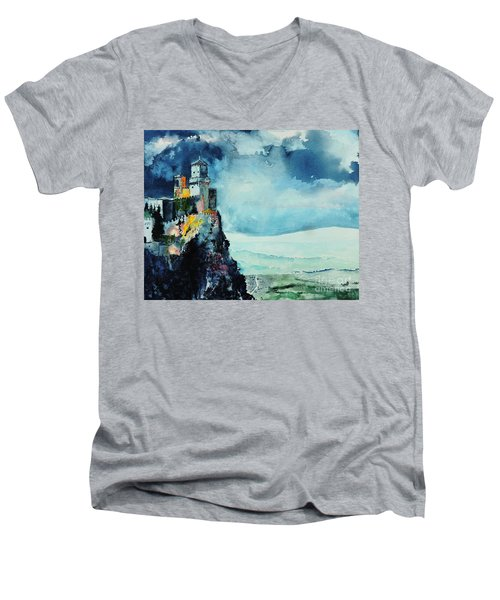 Storm The Castle Men's V-Neck T-Shirt